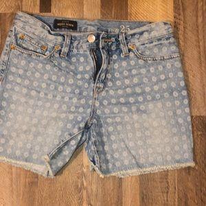 2 for $25🌼 JCREW jean shorts!!
